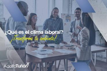qué es clima laboral